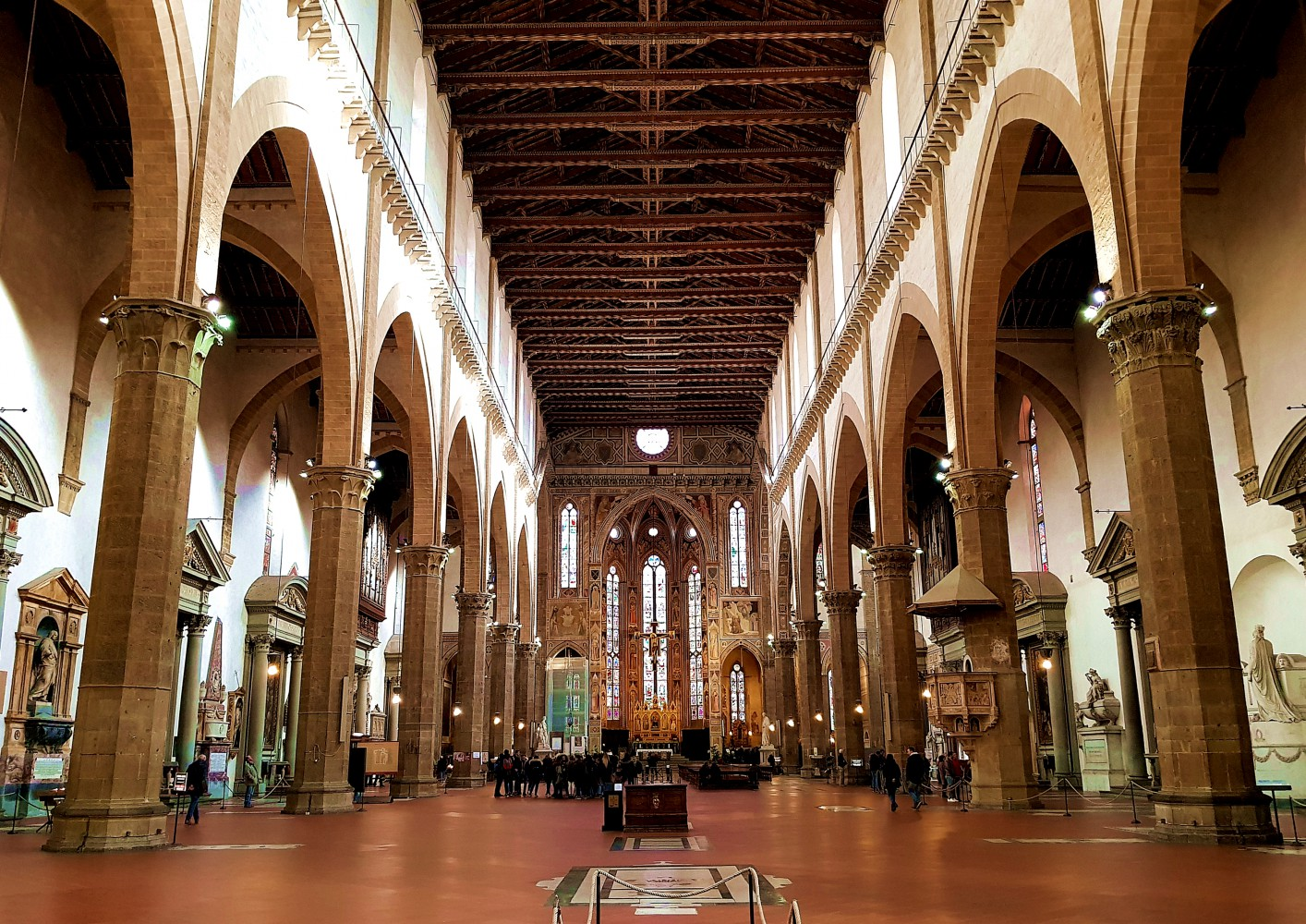 Walking Guided Tour Of Santa Croce Florence Italy