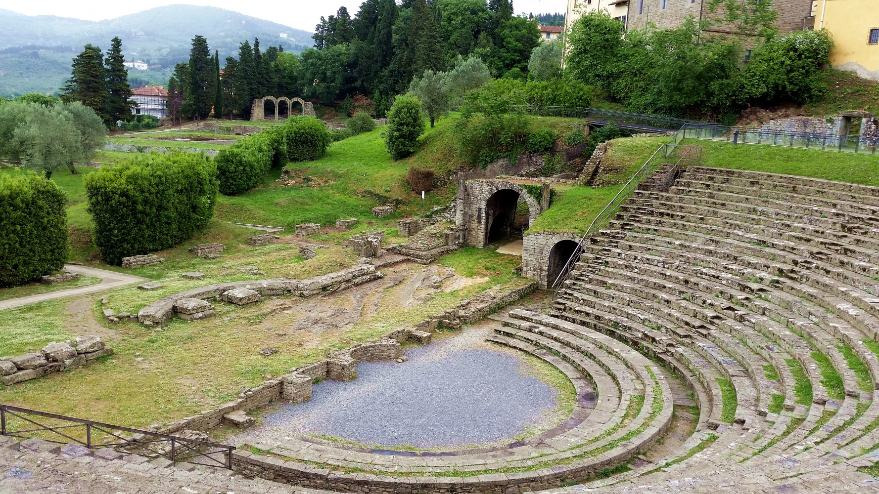 FIESOLE AND THE ARCHAEOLOGICAL AREA