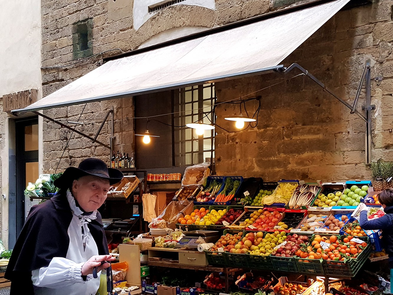 Markets and Wine Vendors