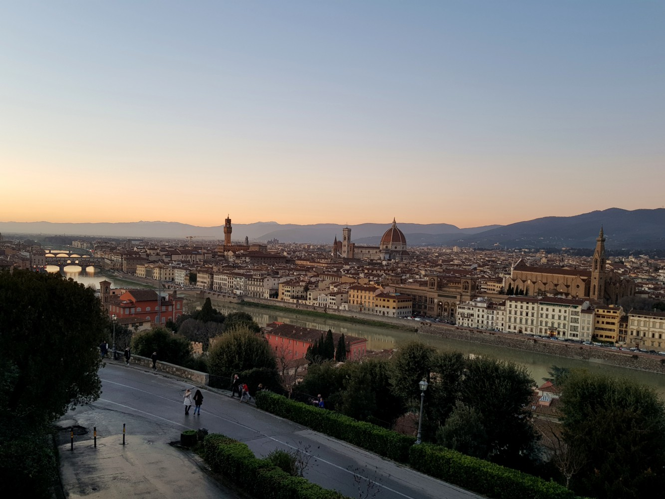 PIAZZALE MICHELANGELO AT SUNSET